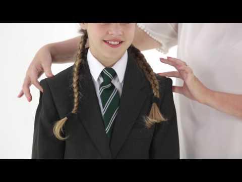 Blue Max Banner School Uniform  Junior Tenby Double Box Pleat Pinafore 913701