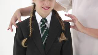How to measure your child for a Girls School Blazer