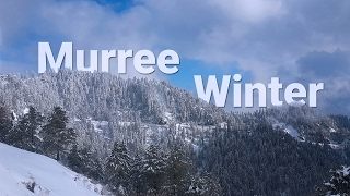 Murree, Pakistan in Snowy winters..