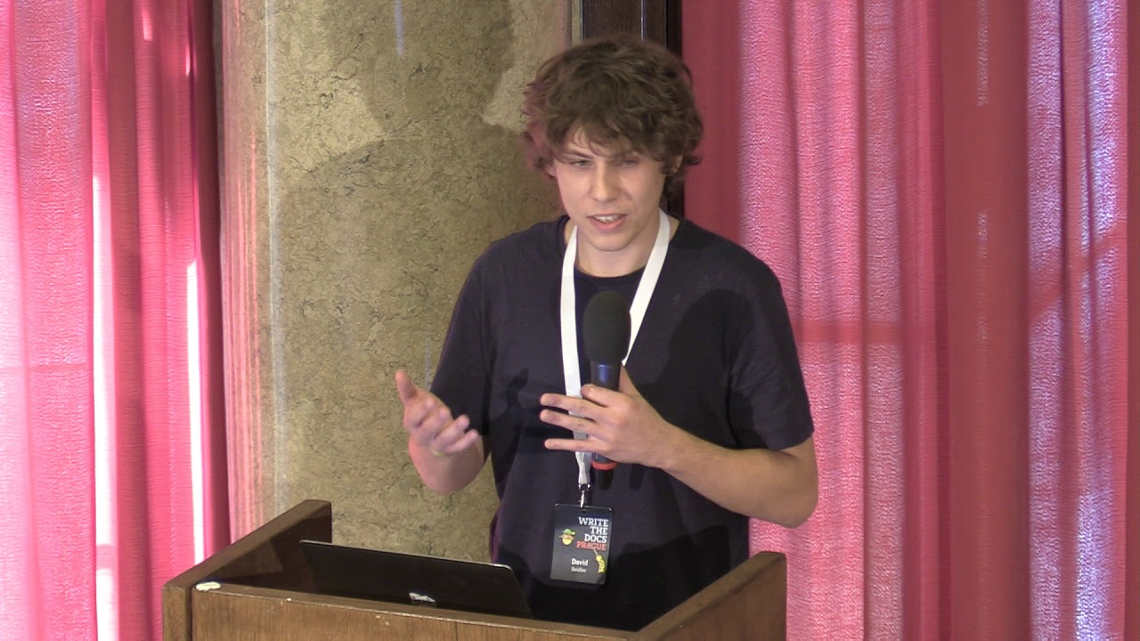 Image from Day 2 Lightning Talk #4 - Write the Docs Prague 2019