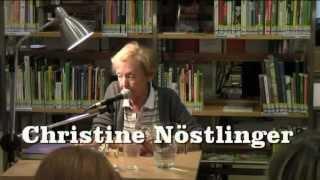 Christine Nöstlinger 2012 - in der Bücherei Penzing