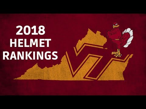 Football Helmets Ranked || 2018 VT 5 Star Ratings