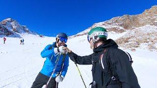 Worldcup Skifahrer bewertet meine Skitechnik