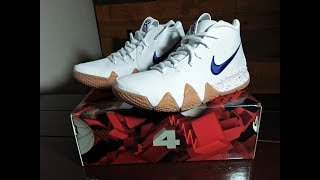 ef9f6c262353 Kyrie 4 Uncle Drew Unboxing - Sick-Looking