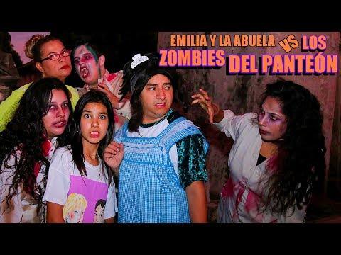 Emilia y la Abuela VS los Zombies del Panteón   Temp 3 Ep 3   TV Ana Emilia