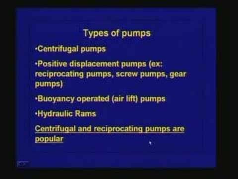 Lecture 40 Intake structures and  Pumping Installations