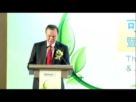 Mike Duke Outlines Walmart's New Sustainability Goals in Beijing