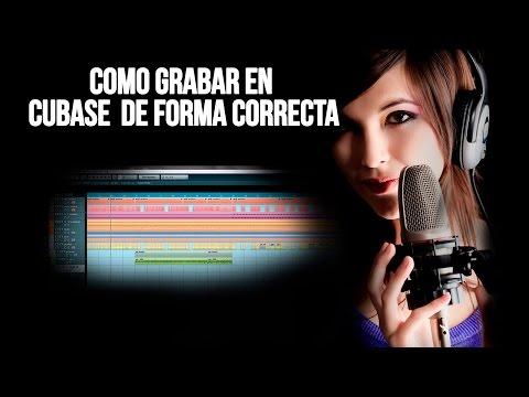 Como Grabar En Cubase De Forma Correcta / Grabar Voz