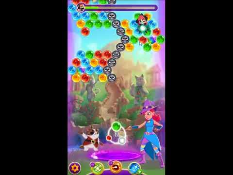 Bubble Witch Saga 3 Level 520 - NO BOOSTERS 🐈