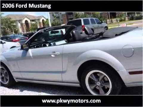 2006 ford mustang used cars panama city fl youtube
