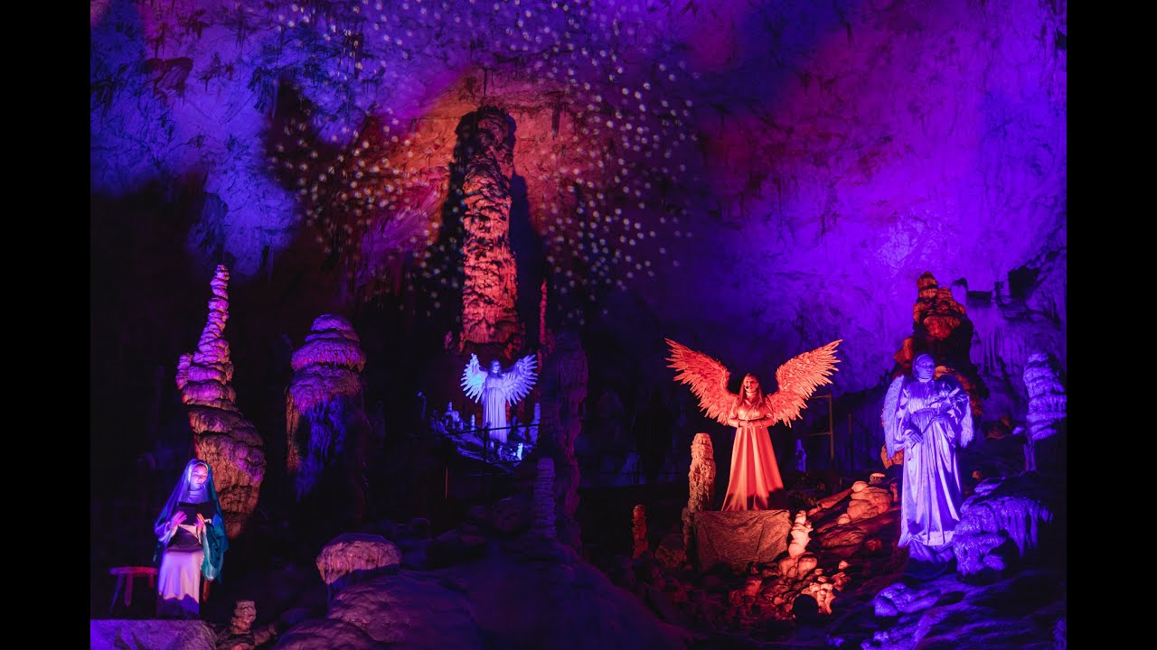 Postojna Cave's magical Christmas