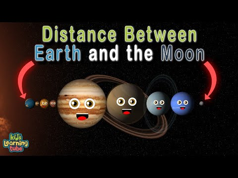 Planet Song What's the Distance Between the Earth and Moon