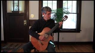 Colors of the Wind, for solo guitar