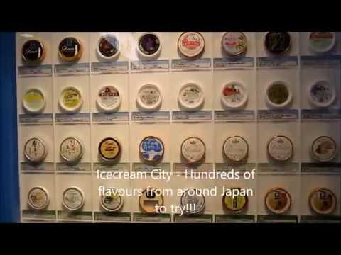 Ice cream City in Namco Namjatown - Ikebukuro, Tokyo things to do