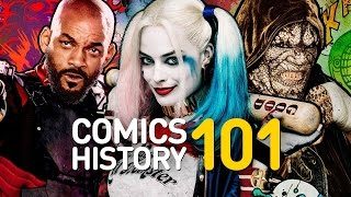 Who Are the Suicide Squad? - Comics History 101