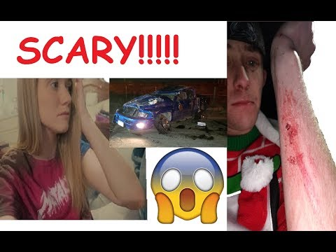 Hayleeandfamily's HUSBAND gets into SCARY CAR ACCIDENT