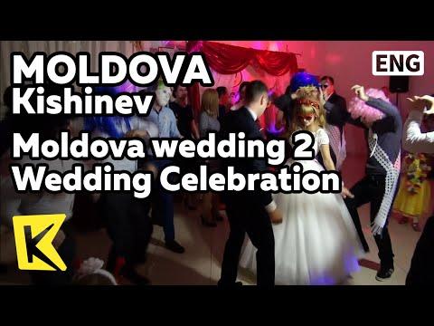 【K】Moldova Travel-Kishinev[몰도바 여행-키시너우]몰도바 결혼식 2 밤까지 이어지는 축하/Wedding/Celebration/Dance