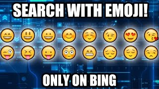 Bing searches the web with Emoji [ Zoomin.TV Tech and Gadgets ]