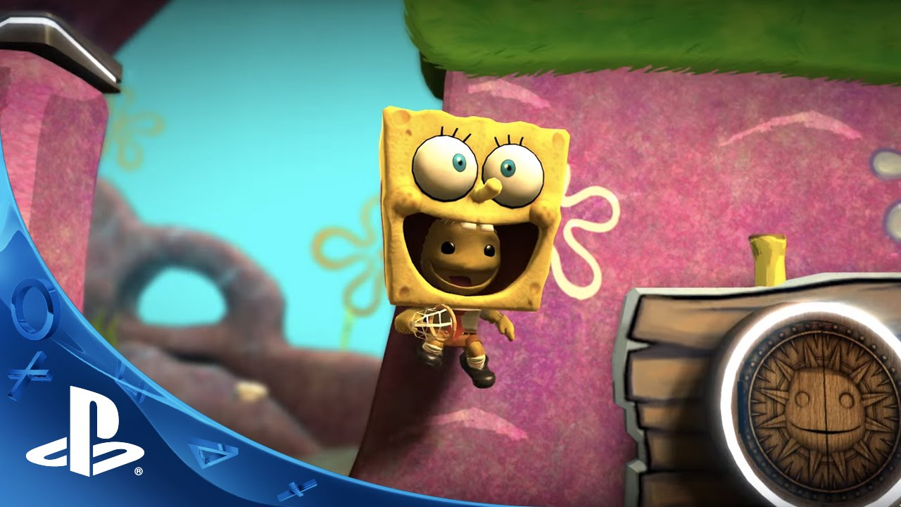 littlebigplanet 3 spongebob squarepants