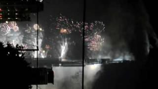 Bur Khalifa(Dubai)opening fireworks jan 2010