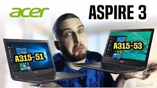 Notebook Acer Aspire 3 com dois modelos no Brasil | diferenças do A315-51 e A315-53