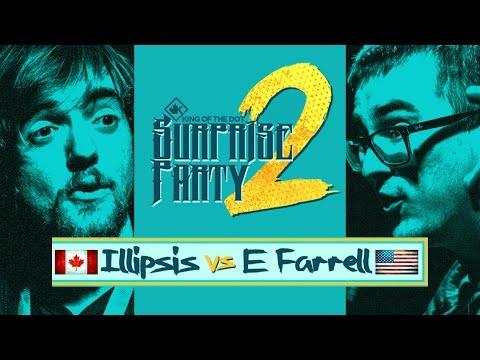 KOTD - Rap Battle - Illipsis vs E. Farrell