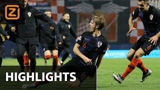 Nations league: Samenvatting Kroatië - Spanje