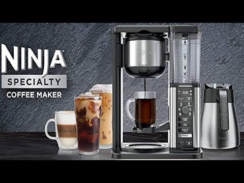 Ninja Specialty Fold Away Frother CM407 Coffee Maker Review, Excellent coffeemaker