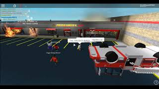 ROBLOX Chuck E Cheese's: The 3RD FIRE. (Part 1/2)