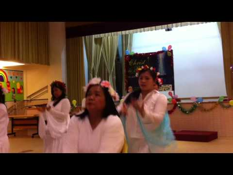 St jude North point hongkong new years party liturgical dance