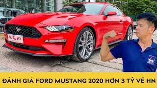 Đánh giá Ford Mustang 2020 Ecoboost Premium hơn 3 tỷ, bản kỷ niệm 55 năm vừa về Việt Nam | Autodaily