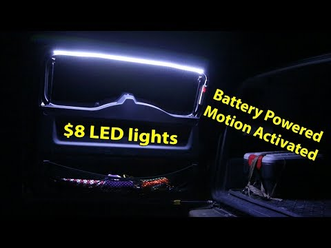 😎 FJ Cruiser Mods New 💲CHEAP LED Lighting For The Back Door Tailgate👍
