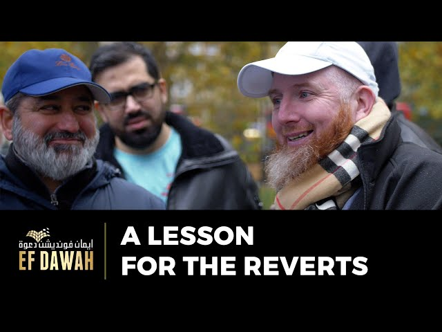 A Lesson For The Reverts