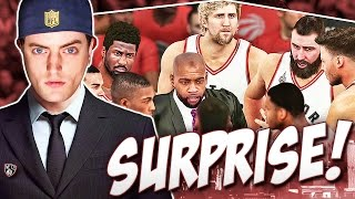 TWO BIG Surprises From The Toronto Raptors! Eastern Conference Finals!! - NBA 2K16 Nets Rebuild #25