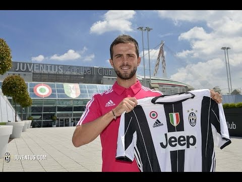 Miralem Pjanic joins Juventus   (First Interview By the Juventus Media)