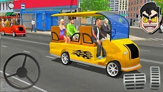 Smart Taxi Shopping Mall Car Driving Simulator - Android Gameplay Hd