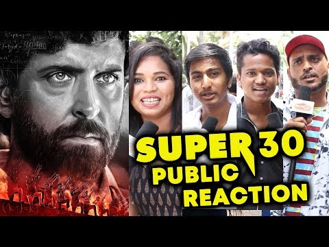 SUPER 30 FIRST LOOK | Hrithik Roshan | PUBLIC REACTION | Anand Kumar Biopic