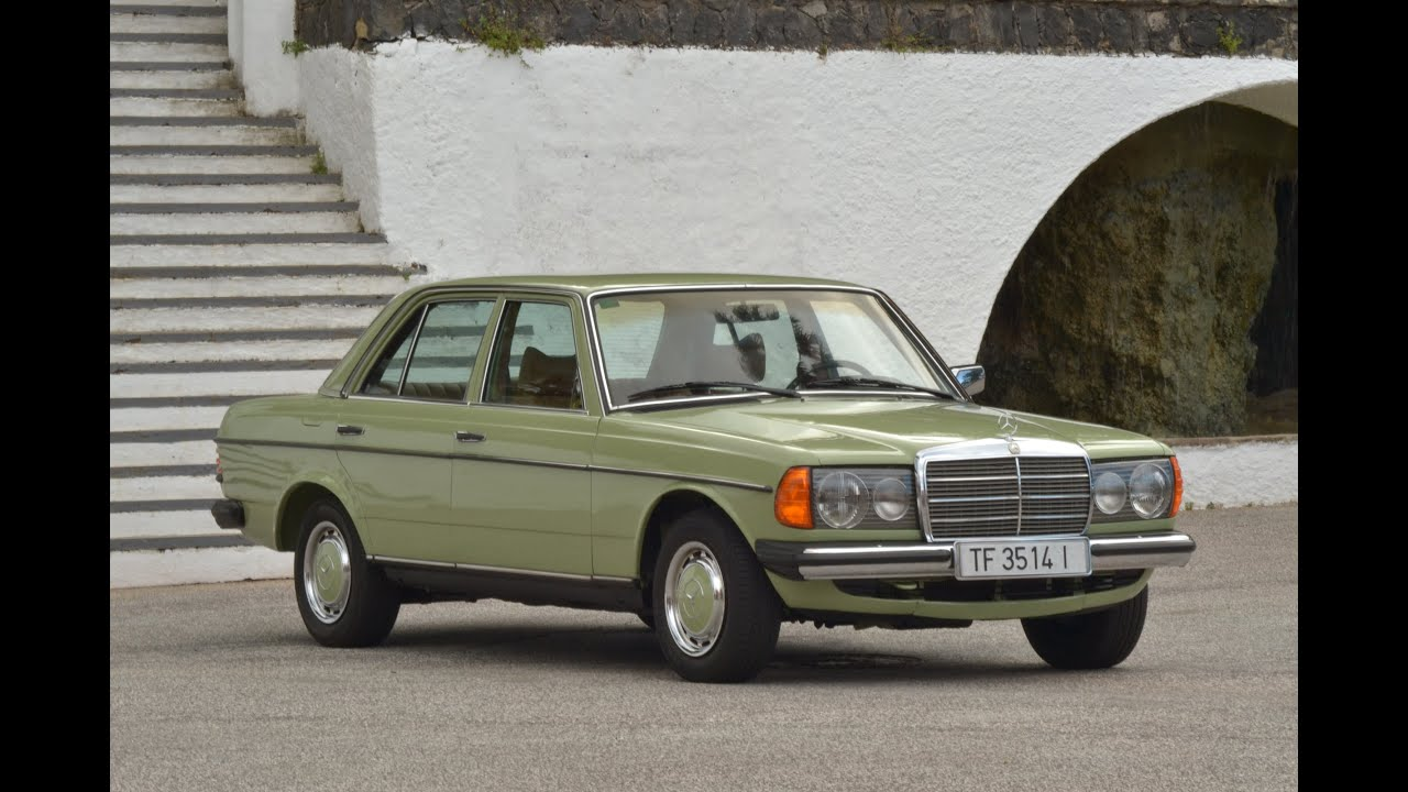 Mercedes benz 240d w123 de 1978 youtube for Mercedes benz 240 d