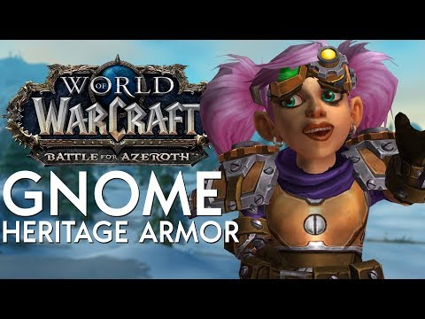 Gnome Heritage Armor - In Game Preview | Battle for Azeroth