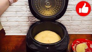 Вот так нужно готовить кекс в мультиварке Вкусняшка к чаю за 10 минут выпечка