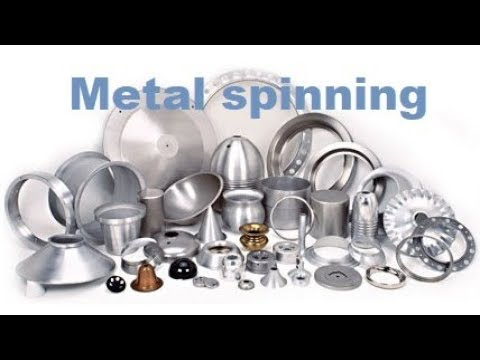 Mechanical worker demonstrates 1250mm spinning metal spinning spinning - part2
