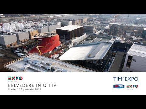 Expo Milano 2015: Belvedere in città 13/01/2015