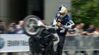 Streetbike Freestyle show with Chris Pfeiffer BMW Welt
