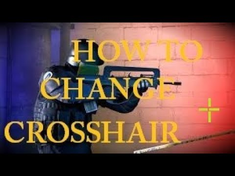 HOW TO CHANGE CROSSHAIR IN CS GO?! TUTORIAL thumbnail