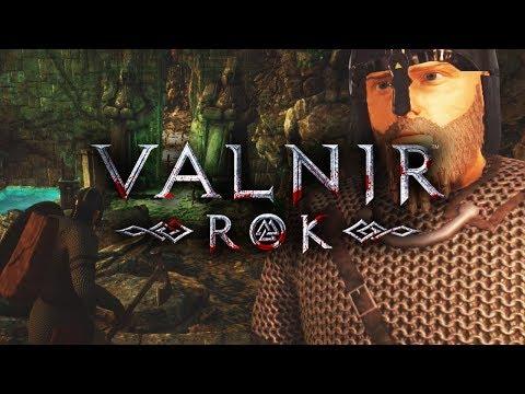 Spieler mit MEGA-Schwert bedroht uns! 🎮 VALNIR ROK #015 PRE-ALPHA