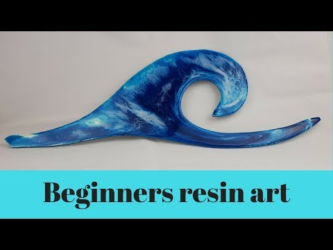 Beginners bubble free resin art