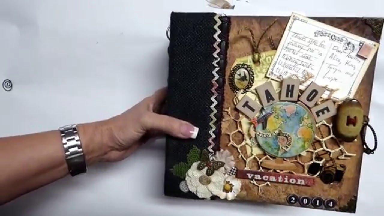 Vintage style scrapbook ideas - Vintage Style Scrapbook Ideas 87