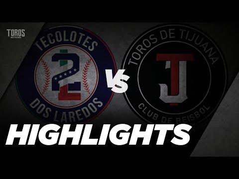 HIGHLIGHTS DOS LAREDOS VS TIJUANA 19 JULIO
