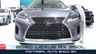 2020 Lexus RX 350L - Exterior And Interior - Montreal Auto Show 2020
