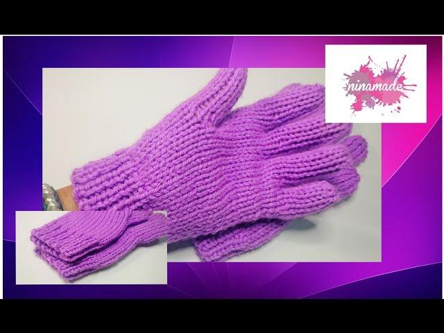 Paso a paso para tejer medias y guantes